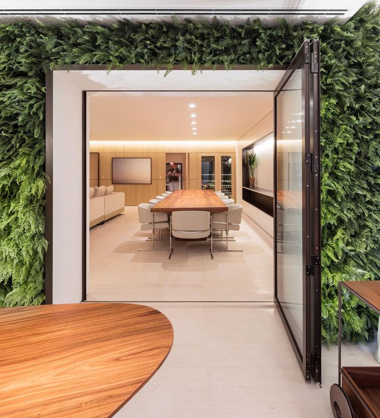 Apartamento em São Paulo do escritório  Fernanda Marques Arquitetos Associados. Foto: Fernando Guerra/Reprodução.