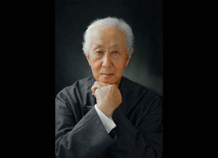 Arata Isozaki: arquiteto japonês de 87 anos tem mais de 100 obras concluídas no currículo e  foi reconhecido com o Pritzker Prize 2019. Foto: Pritzker Prize / Divulgação
