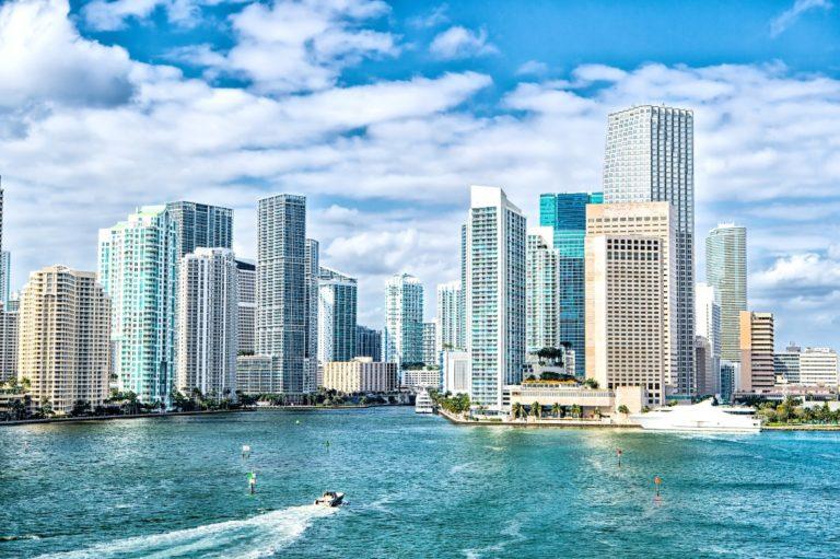 Até 2100 Miami será completamente inundada pelo oceano. Foto: Bigstock