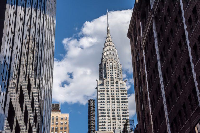 O edifício Chrysler está prestes a ser vendido com forte prejuízo. Foto: Bigstock.