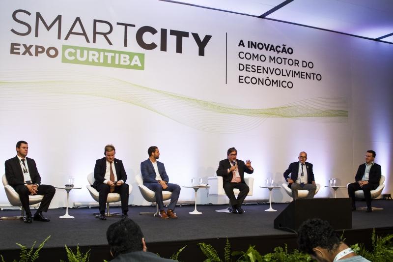 Primeira edição do da Smart City Curitiba aconteceu em março de 2018. Foto: Ana Gabriella Amorim/Gazeta do Povo