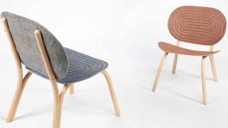Projeto do alemão Philipp Hainke, cadeira Halo ficou em segundo lugar na premiação. Foto: divulgação