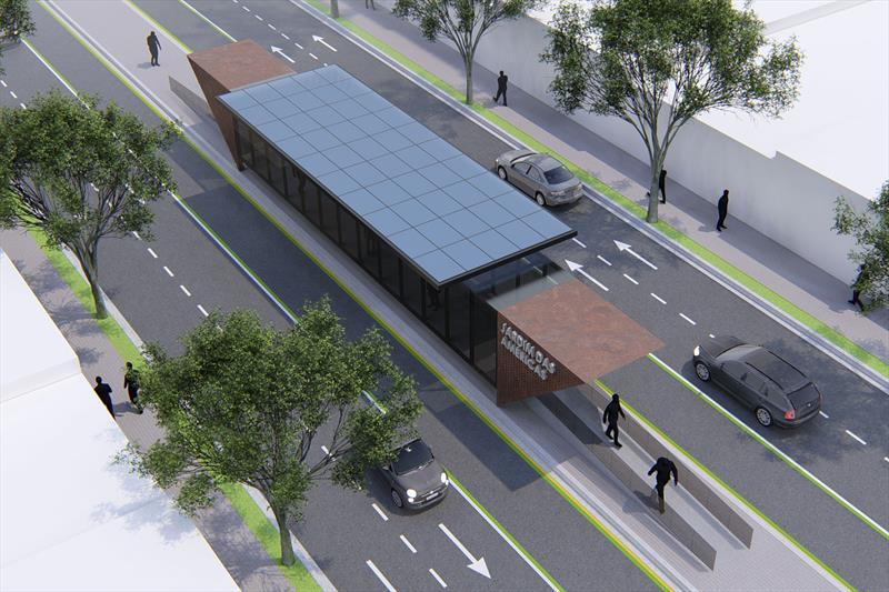 Estações-tubo de Curitiba serão substituídas por novo modelo