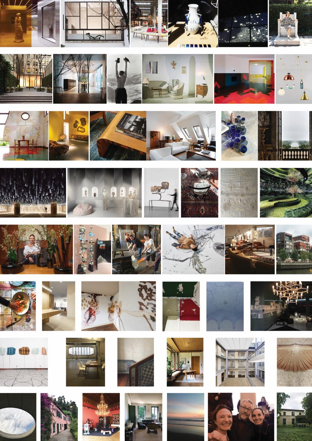Fotos das muitas colunas de Daniela Busarello para HAUS desde 2015. Fotos: Arquivo Pessoal.