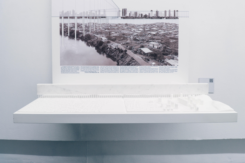 Arquitetos curitibanos 'atualizam' Le Corbusier para cenário brasileiro contemporâneo em mostra no MON