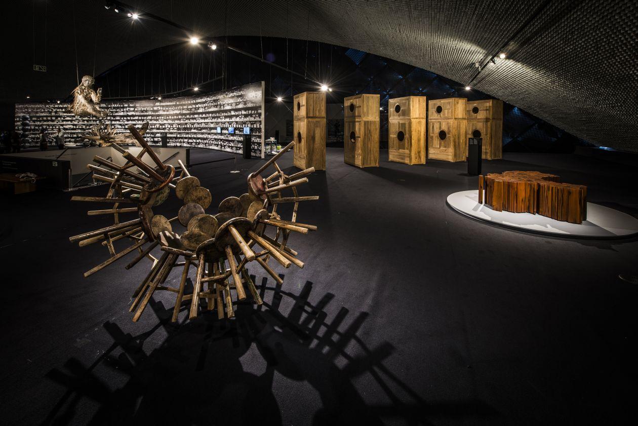 Exposição fica no Museu Oscar Niemeyer até o dia 28 de julho. Foto: Letícia Akemi/Gazeta do Povo