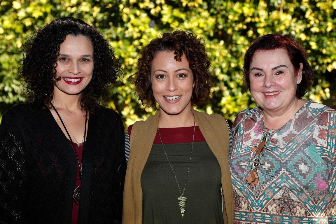 Daliane Nogueira, Carol Costa e Márcia Carazzai. Foto: Jonathan Campos/Gazeta do Povo