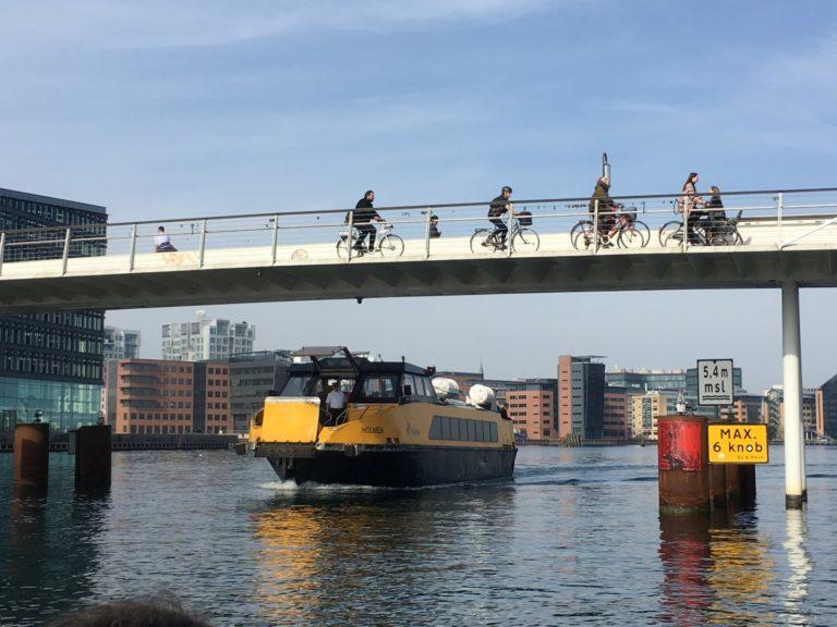 Copenhague: a capital da Dinamarca encabeça a lista de cidades com melhores condições para o uso da bicicleta. Foto: Divulgação