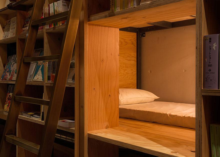 Foto: reprodução/Book and Bed