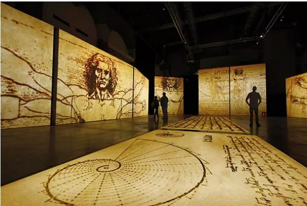 Exposição de Da Vinci chega ao Brasil em outubro