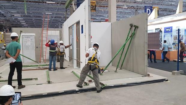 Projeto brasileiro que constrói casa em 24 horas será exibido em Las Vegas