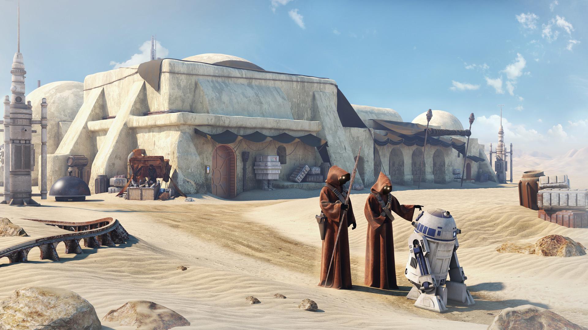 Cantor do rap está se dedicando cada vez mais à arquitetura e agora anuncia que fará casas para sem teto inspiradas em Star Wars. Foto: Star Wars/Divulgação