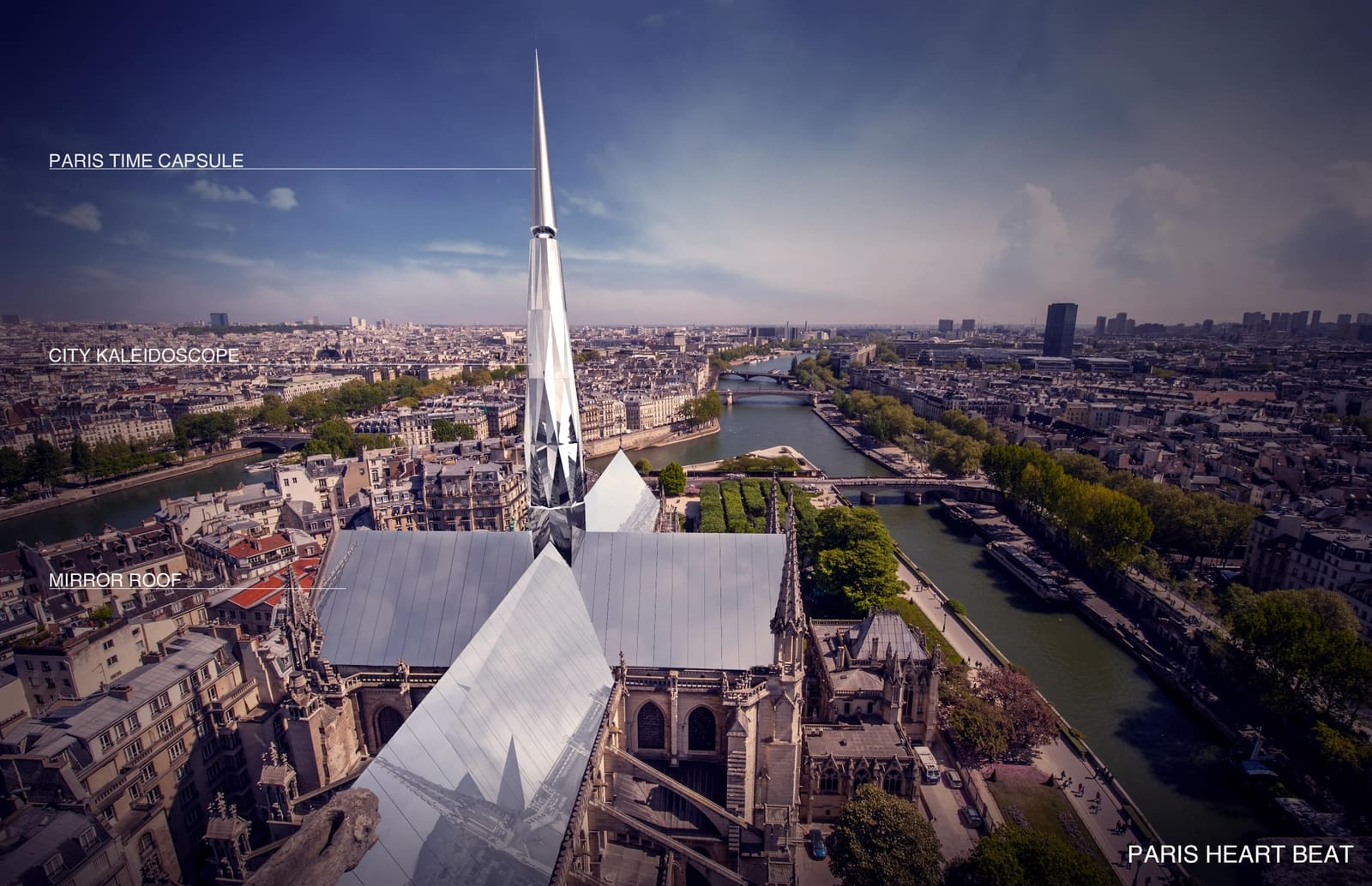 França aprova construção de projeto moderno em Notre-Dame