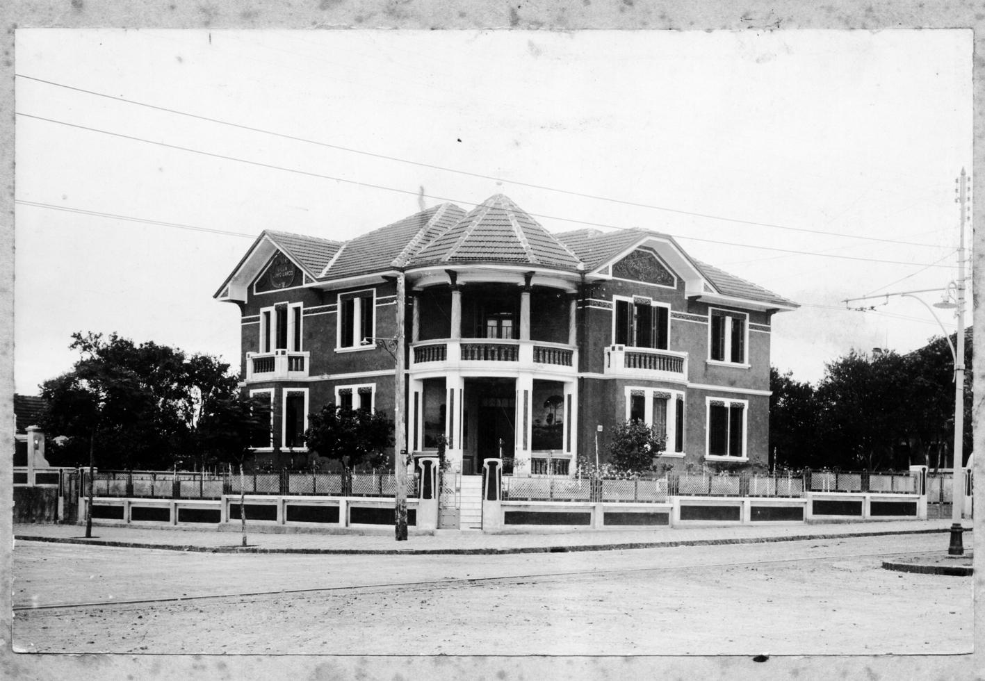 Casa foi construída em 1931 pelo casal Lucas e Martha Sovierzoski. Foto: Maria Guiraud Antunes/Arquivo Pessoal