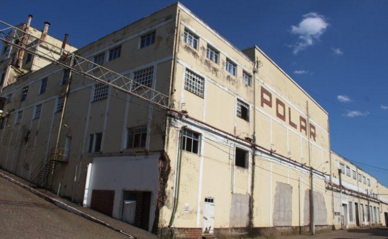 Fábrica da Cervejaria Polar está temporariamente protegida da demolição. Foto: CAU/RS/Divulgação