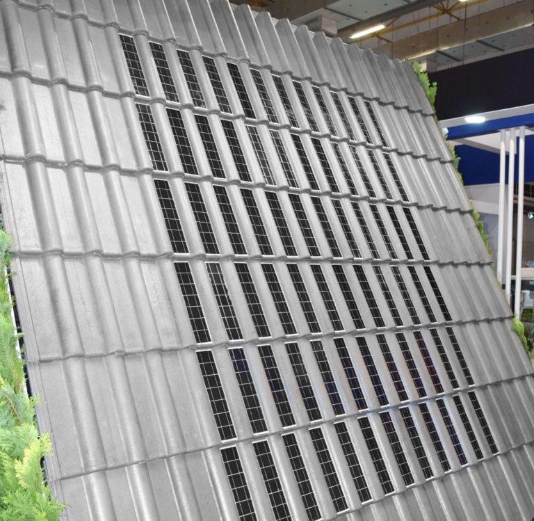 Eternit lança telha solar para competir em mercado em franca expansão. Produtos ainda passam por testes e não estão disponíveis no mercado. Foto: Divulgação