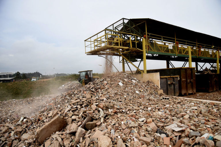Jundiaí, no interior de São Paulo, implantou sistema que consegue reciclar 100% dos resíduos. Foto: Divulgação