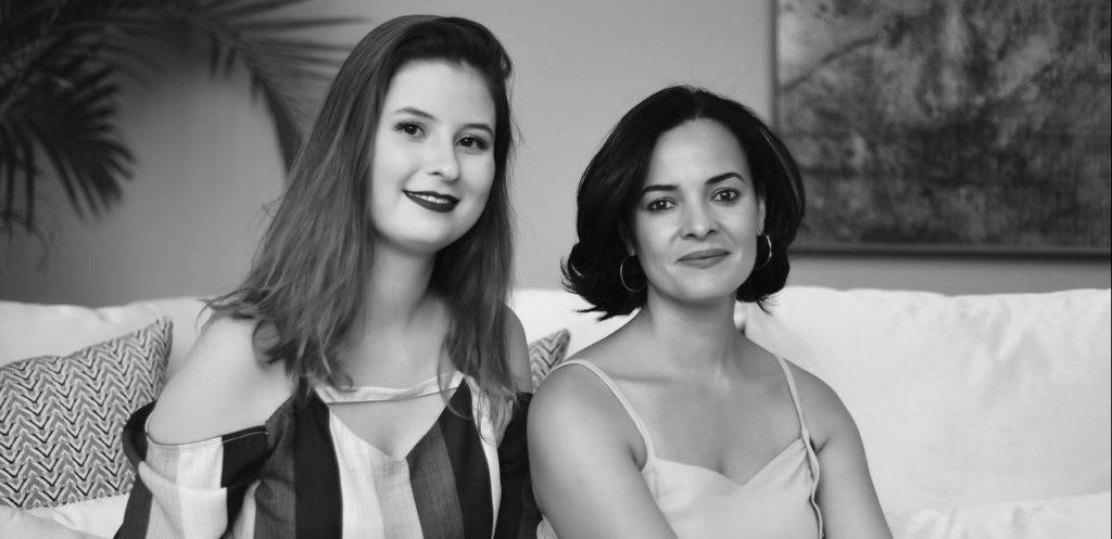 Gabriela Meister e Roseli Aderno