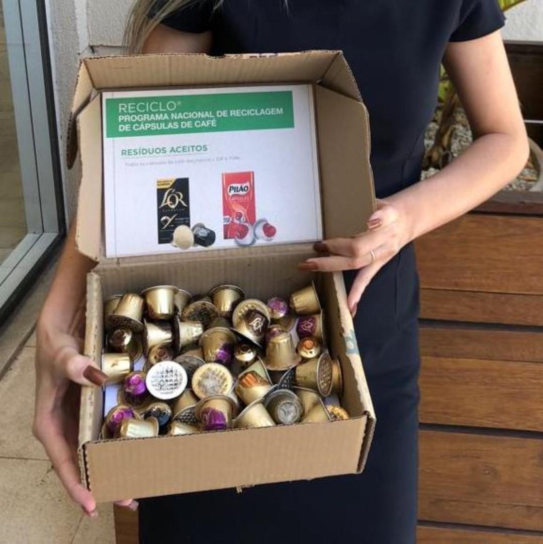 Terra Cycle é parceira de marcas como L'or e Melita; consumidor pode enviar material pelos correios. Foto: Divulgação