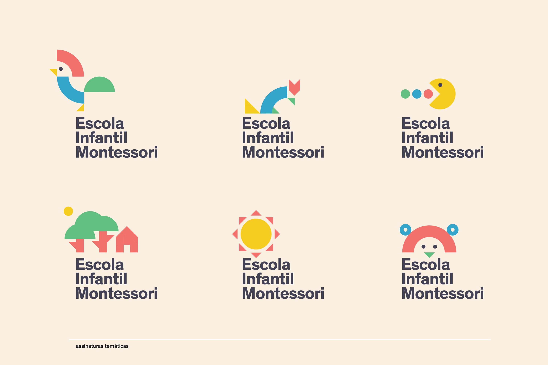 Marca da Escola Infantil Montessori