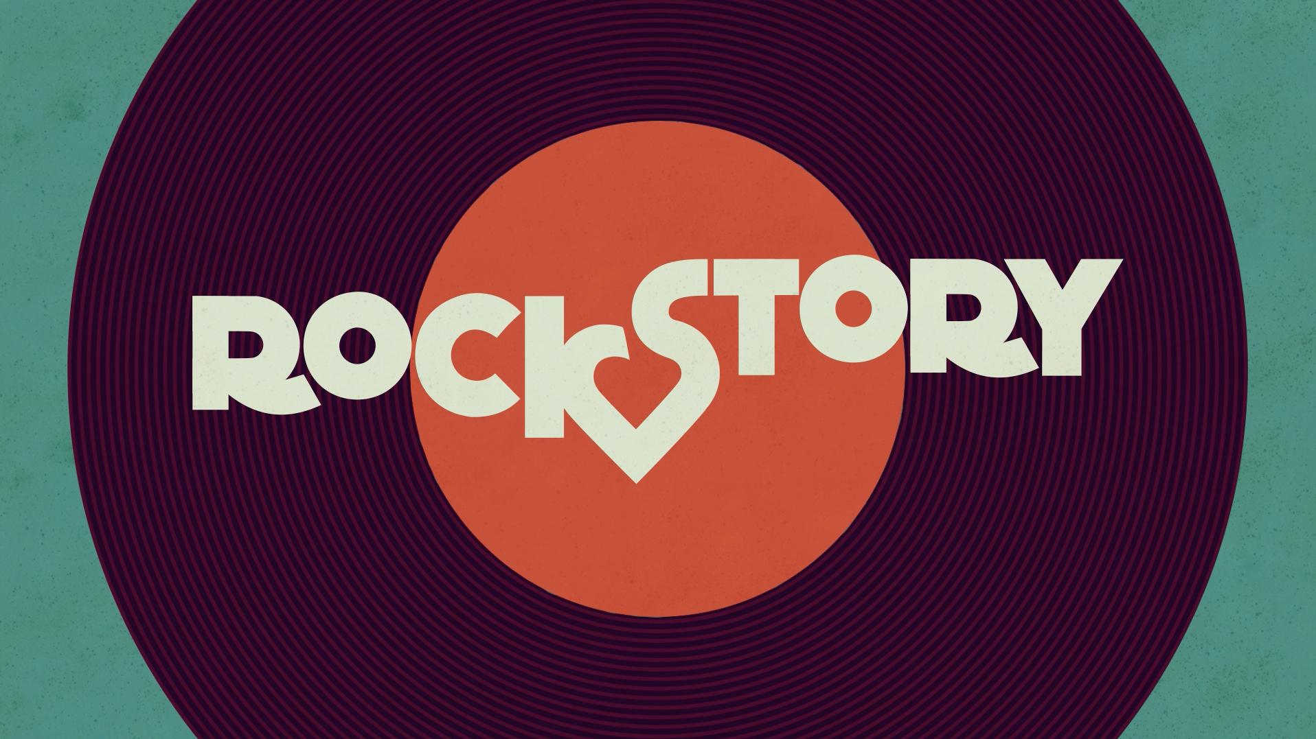 A arte de abertura da novela Rock Story da Rede Globo também está na mostra. O trabalho é da Visorama. Foto: Divulgação.