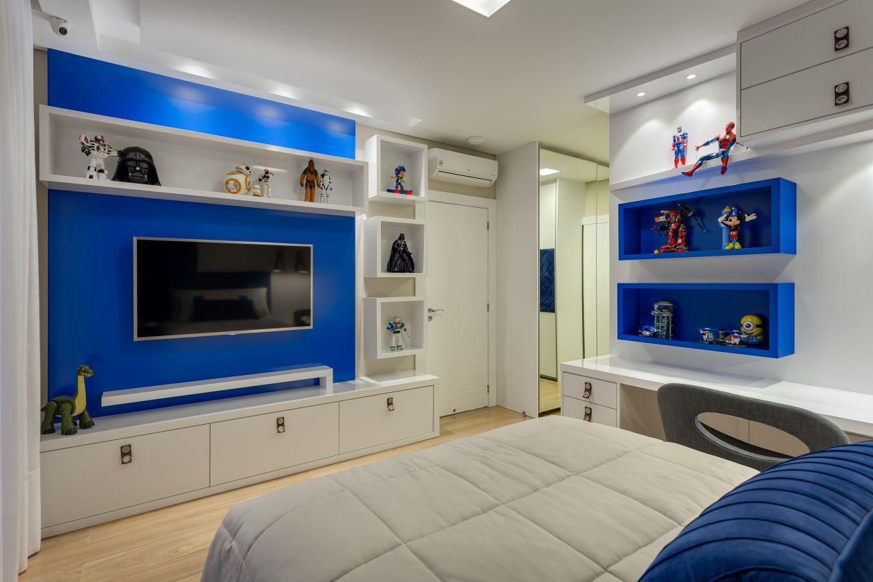 Com o ar infantil na decoração, o mobiliário se torna adaptável em todas as fases da vida.  Foto: Nenad Radovanovic