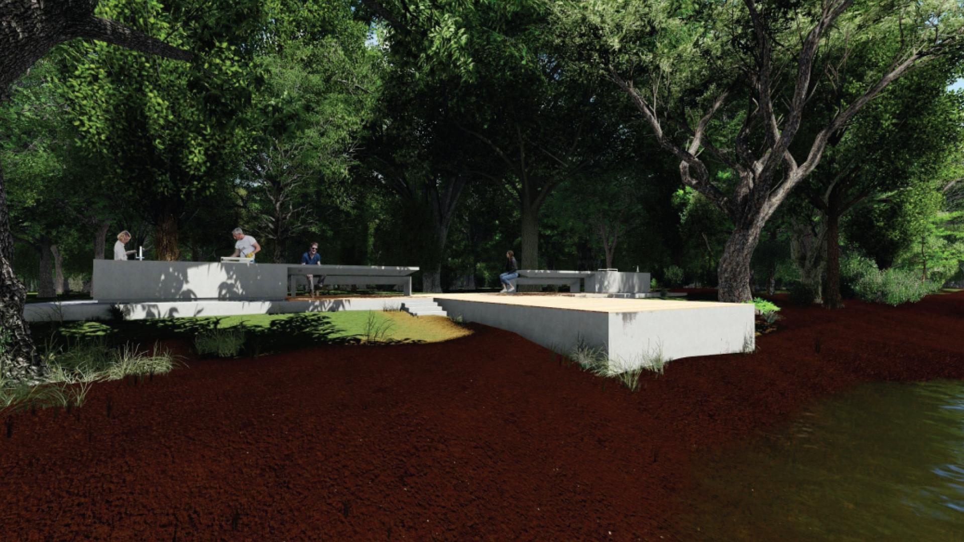 Cozinha compartilhada ao ar livre ganha prêmio brasileiro de arquitetura