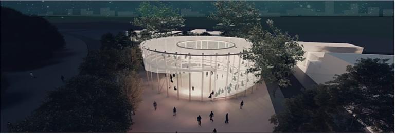 Projeto vencedor do Concurso Ibero-Americano de Estudantes de Arquitetura UFLO. Imagem: divulgação.