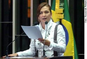 Kátia Abreu: Querem acabar com a propriedade privada!