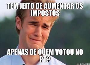 Por que só os eleitores de Dilma deveriam bancar o aumento de impostos