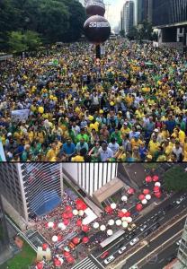 O viés da imprensa na cobertura das manifestações