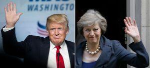 May e Trump: dois conservadores com visões muito diferentes sobre comércio