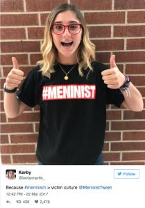 Aluna resolve mostrar como o movimento feminista é intolerante e logo tem a comprovação que buscava