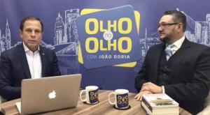 Bene Barbosa dá uma aula de segurança para João Dória numa ótima conversa civilizada