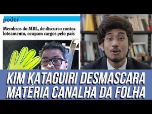 Folha de SP faz ataque desonesto ao MBL, e Kim Kataguiri rebate