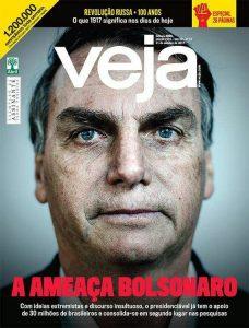 """Veja só: a """"ameaça"""" Bolsonaro, a """"arte"""" no MAM e a """"revolução"""" russa"""
