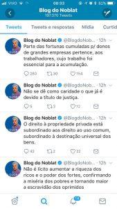 Ricardo Noblat, isso que você defende não é… o comunismo?