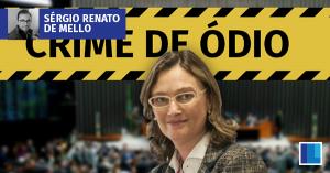 Quem vai ser punido com o projeto de lei criminal de Maria do Rosário?