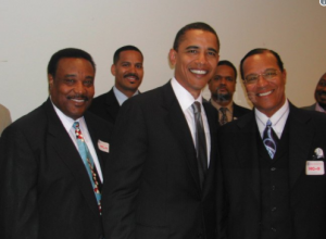 Foto de Obama com líder da Nação do Islã foi escondida por 13 anos para não prejudicar o democrata