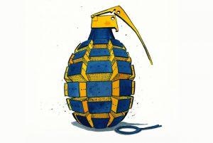 Crimes violentos disparam na Suécia, mas ninguém fala disso
