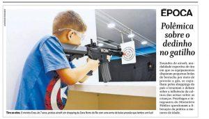 """Criança tocar corpo de homem nu é """"arte"""", mas atirar com airsoft é caso para Ministério Público"""