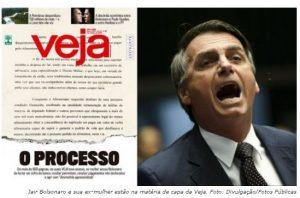 Veja só: briga de casal Bolsonaro ganha dimensão maior do que ameaça de golpe comunista