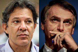 Ainda há quem pense que Bolsonaro é maior ameaça à democracia do que PT?