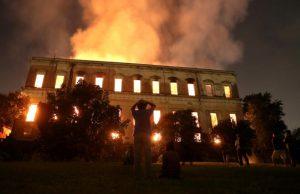 O incêndio no Museu Nacional e o descaso com nossa cultura e legado histórico