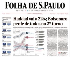 Bolsonaro, as fake news da Folha e o papel da imprensa numa sociedade livre