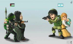 Israel está sob ataque de Gaza, mas mídia espera para reportar apenas reação