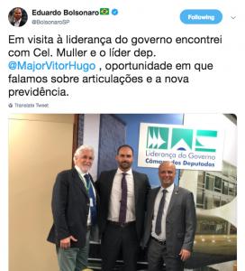 Duplo padrão: articulação política e entrevista para a Globo já estão liberadas?