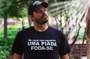 Danilo Gentili mostra independência e se irrita com patrulha bolsonarista