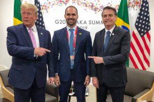 Eduardo Bolsonaro como embaixador americano é presente de aniversário para 03 e escárnio com país