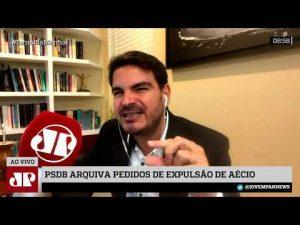 Com Aécio, 'novo PSDB' é igual ao velho, mas com desistentes do bolsonarismo – Jovem Pan